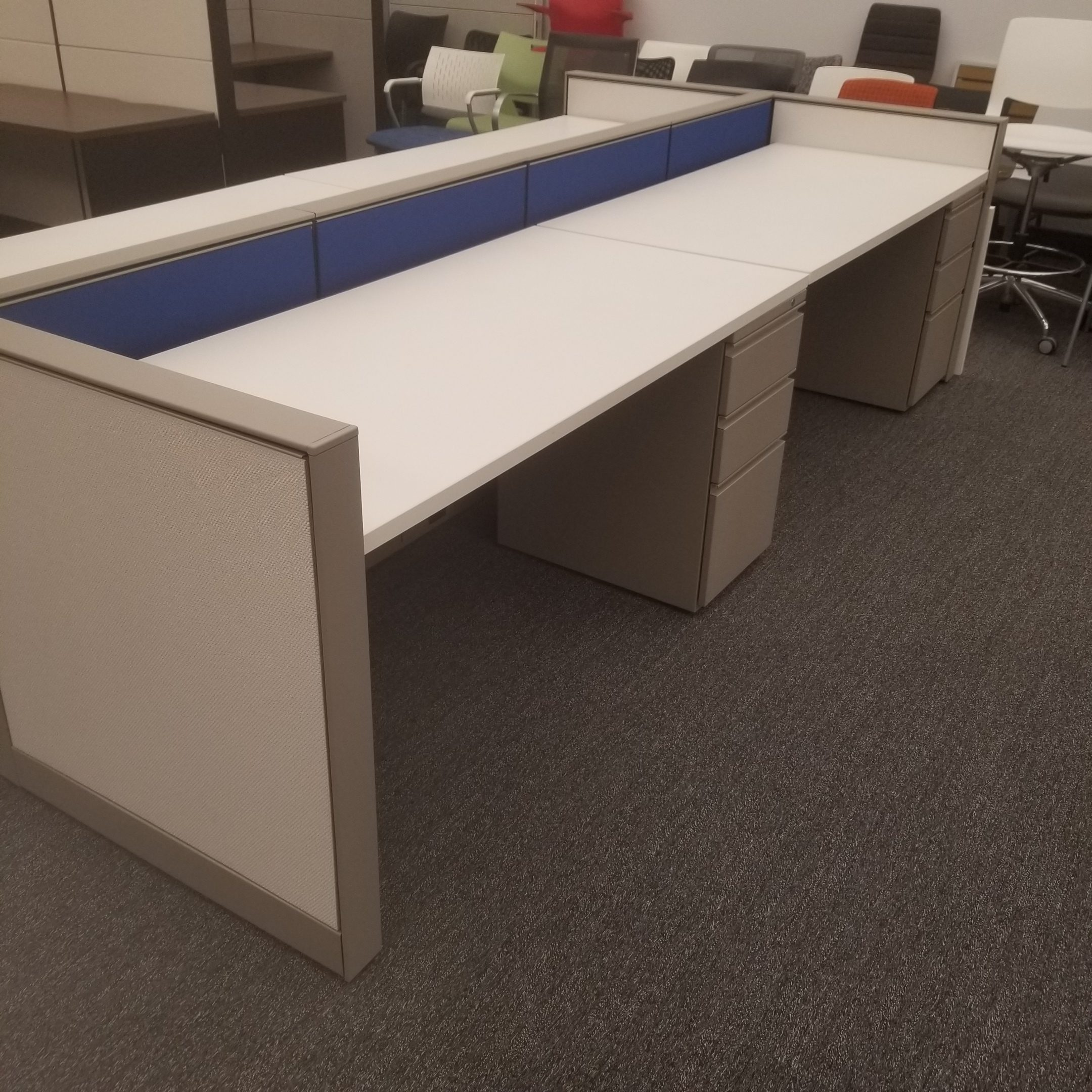 Herman Miller Canvas 2.5'x5′ CallCenter Stations