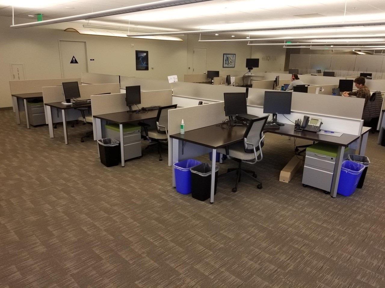 Enwork Grid 6×6 Workstations